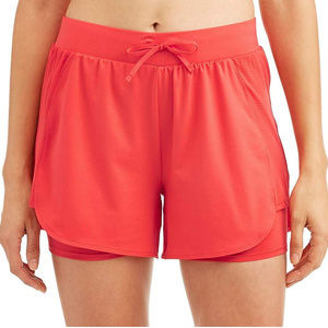 Women's Athletic Performance Running Short Orange